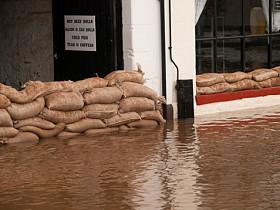 business flood damage